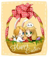 APH - Happy Easter by milaa-chan