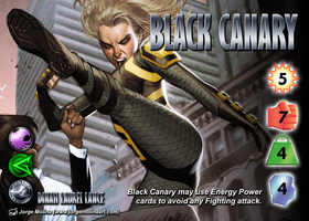 Black Canary (Dinah Laurel Lance) Character by overpower-3rd