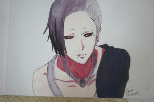 Uta-kun (Tokyo Ghoul) by Cane-the-artist