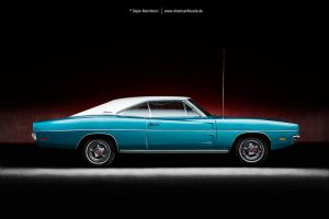 1969 Dodge Charger Side by AmericanMuscle