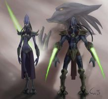 Starcraft Concept by Irontree