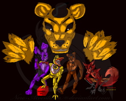 Five Nights at Freddy's Fan Art by Nero-Alventalda