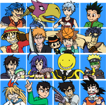 J-Star Squares by Ol-Green-Nipples