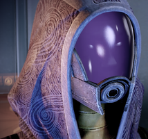 Tali'Zorah Portrait by Namz89