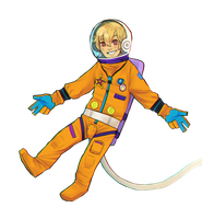 space swimmer by Muchinery