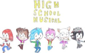 Sonic School Musical by Naminedraws7