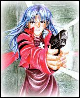 Misato - Don't think Bad of Me by happylilsquirrel