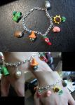 Plants vs Zombies Bracelet by AshiviAlpha