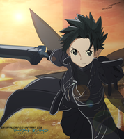 Alfheim Online - Kirito Colored ( WARM ) by bryanaldrin