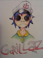GoRiLLaZ by 2D-or-not-2D