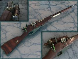 Steam plasma rifle. by SirLiss