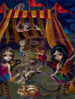 Fairy Circus by jasminetoad