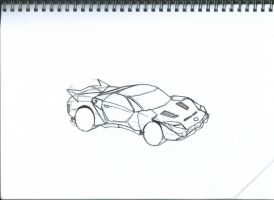Vehicular Concept - TR-SS (Titanium Roadster SS) by TopHatProductions115