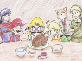 Happy Smashgiving by Mister-Saturn