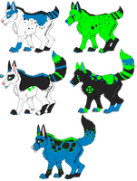 ColdDayMemory Pups by Cosmic-Adopts