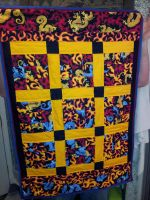 Dragon Fire quilt by M0U53B417