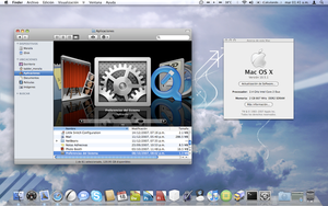 Mac OS X Leopard by dark-mac