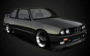 BMW e30 M3 by dazza-mate