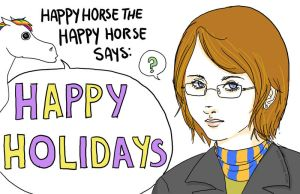 Holiday Card 2008 by kitsuneii