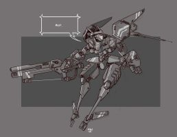 Mecha Sketch 5 by cwalton73