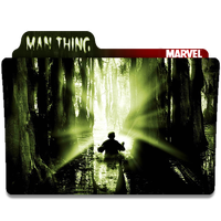 Man-Thing Folder Icons by Nialixus