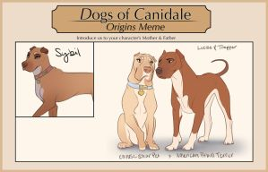 Dogs-of-Canidale: Sybil's Origins by Tazihound