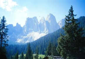 Dolomites by spinngewebe
