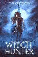 Book Cover II - Witch Hunter by MirellaSantana