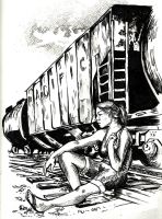 Pacific Railroad by blindthistle