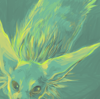 Jolteon by starsweep