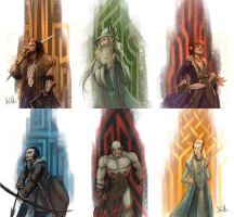 Hobbit color tests by nary-san