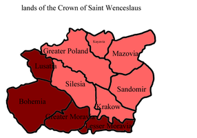 Lands of the Crown of Wenceslaus by kasumigenx