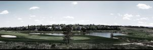 Golf Side Panorama by SyndicDesigns