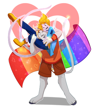 Happy -late- pride month by The--Magpie