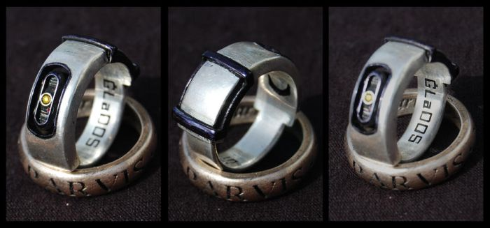 GLaDOS Ring (Silver) by ammnra