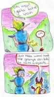 Jak: Gramps and plants by theanimejump