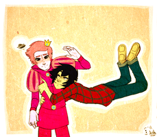 AT: PG and Marshall Lee by Le-Juge