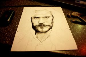 Harry Potter Project: Sirius Black WIP by artbyjoewinkler