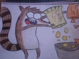 Regular Show-Rigby by cncheckit