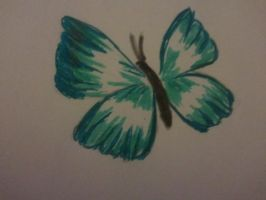 Butterfly - Colored by Celuii