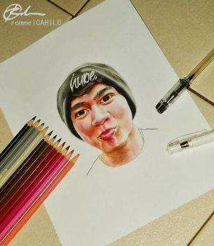 Calum of 5 Seconds of Summer by rommeldrawlines-12