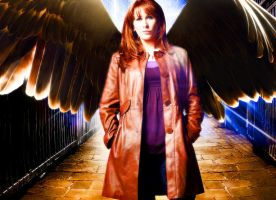The Angel Donna by sidonie7huffleclaw