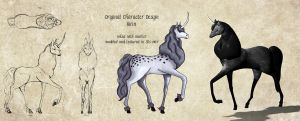 Kirin - Concept to Model by Lillikira