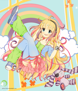 .Colorful Song. by lNeko-Hime