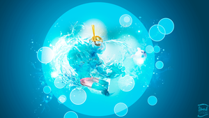 Pool Party Zac Wallpaper League of Legends by LeftLucy