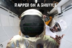 Rapper on a Shuttle by RavengerX