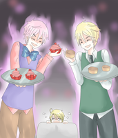 APH - Cupcake and Scone by Mi-chan4649
