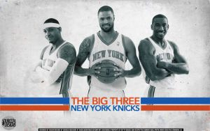 New York Knicks Big Three Wallpaper by IshaanMishra