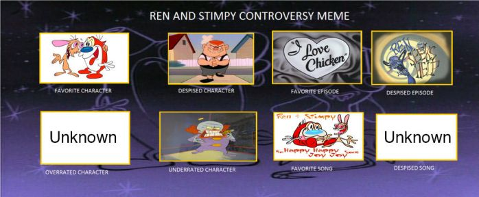 My Ren and Stimpy Controversy Meme by Atarster