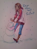 Wanna build a snowman? by AndyStarfish